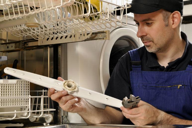 dishwasher plumber